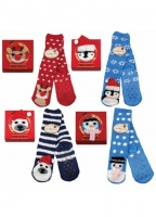 Taubert Boxed Snow World Cuddly slipper Socks