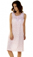 La Marquise Vintage Floral Sleeveless Nightdress