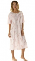 La Marquise Large Size Primrose In Bloom Nightdress