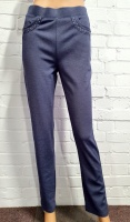 Claudia C Navy Stretch Trouser
