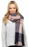 Ladies Checked Scarf