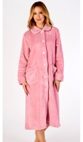 Slenderella Super Soft Button Housecoat
