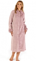 Slenderella Luxury Button Housecoat
