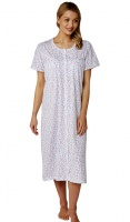 Marlon Cherry Print Button Through Nightdress