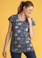 Mistral Sunflower Print Willow Tunic