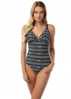 Oyster Bay Aztec Print Swimsuit