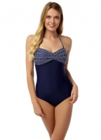 Oyster Bay Geo Bra Swimsuit