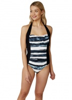 Oyster Bay Striped Swimsuit