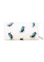 Cute King Fisher Ladies Zip Purse