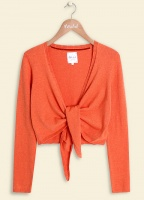 Mistral Tina Tie Front Cardi