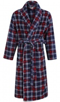 Walker Reid Mens Check Robe